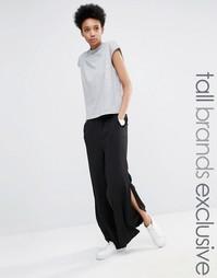 Широкие брюки с разрезами Adpt Tall - Черный