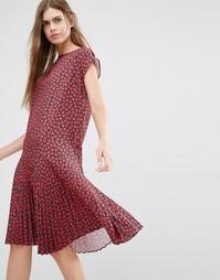 Платье с заниженной талией и принтом сердечек PS by Paul Smith