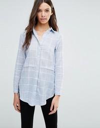 Рубашка в полоску Influence - Синий