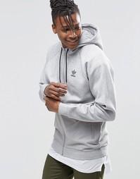 Худи adidas Originals Luxe AY8103 - Серый