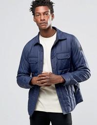Стеганая нейлоновая куртка темно-синего цвета Replay - Темно-синий