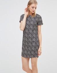 Платье-туника с леопардовым принтом Poppy Lux Zaria