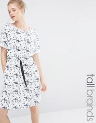 Платье со шнурком на талии Y.A.S Tall Lara