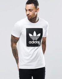 Футболка с логотипом adidas Originals AY8899 - Белый