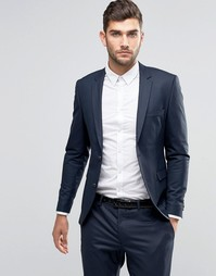 Jack & Jones Premium Skinny Suit Jacket In Navy - Темно-синий