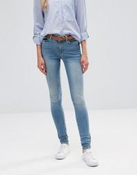 Суперузкие джинсы Vero Moda Seven - Синий 34