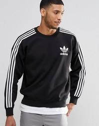 Свитшот с круглым вырезом adidas Originals Adicolour B10717 - Черный