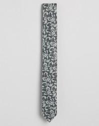 Галстук из серого кружева ASOS - Серый