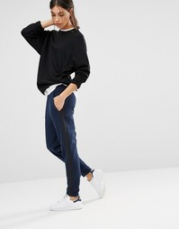 Levis Line 8 Tappered Casual Trousers - Navy blazer