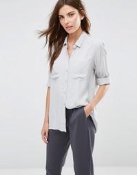 Рубашка с карманом спереди Vila - Завышенная талия