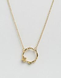 Ожерелье с кольцом, цветами и пчелой Bill Skinner - Золотой