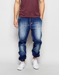 Выбеленные джинсы-джоггеры Loyalty & Faith - Синий