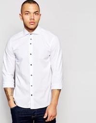 Эластичная рубашка Dickens and Browne - Белый