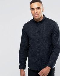 Рубашка со сплошным принтом Brave Soul - Черный