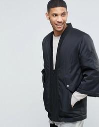 Черная куртка-пилот в стиле кимоно ASOS - Черный