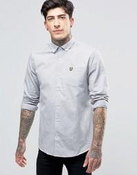 Меланжевая рубашка Lyle & Scott - Серый