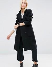 Классическое пальто ASOS - Черный