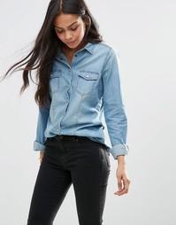 Джинсовая рубашка Brave Soul - Синий