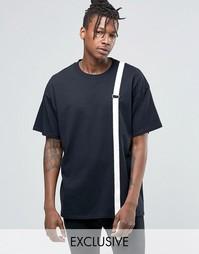 Oversize-футболка Reclaimed Vintage - Черный
