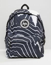 Рюкзак с принтом зебра Hype - Черный