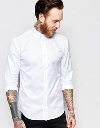 Хлопковая рубашка Only & Sons - Белый