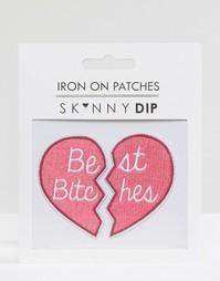 Наклейка Skinnydip Best Bitches - Мульти
