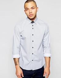 Поплиновая рубашка с принтом Dickens and Browne - Белый