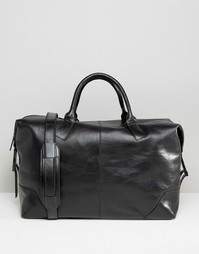 Черная кожаная сумка Royal RepubliQ - Черный