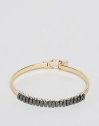 Металлический браслет-манжет ASOS - Смешанные металлы