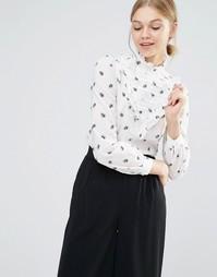 Рубашка с оборками Baum und Pferdgarten Marcy - Мульти