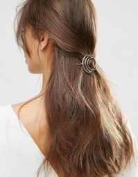 Заколка для волос ограниченной серии в виде колец - Золотой Asos