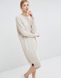 Платье-джемпер Paisie - Кремовый
