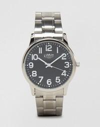 Серебристые наручные часы с черным циферблатом Limit эксклюзивно для A