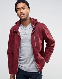Куртка на молнии с капюшоном Farah Rampton - Красный