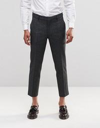 Укороченные брюки с подкладкой Farah Berkley - Черный