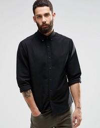 Оксфордская рубашка Only & Sons - Черный
