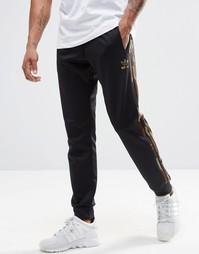 Камуфляжные джоггеры adidas Originals AY8122 - Черный