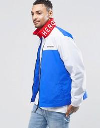 Куртка с вышивкой на воротнике Heros Heroine - Темно-синий