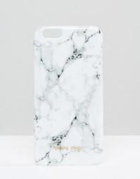Чехол для iPhone 6/6s с мраморным узором Happy Plugs Carrara - Мульти