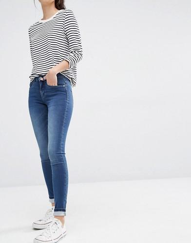 Облегающие джинсы с классической талией Only Royal - Умеренный синий