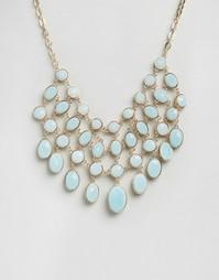 Броское ожерелье ALDO Giewet - Синий