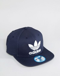Темно-синяя бейсболка adidas Originals S95078 - Темно-синий