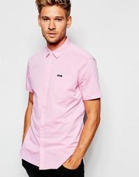 Рубашка слим в горошек с короткими рукавами Pepe Jeans Miles - 201