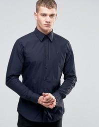 Рубашка слим G-Star - Светлый кобальтово-синий