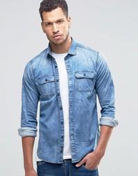 Светлая джинсовая рубашка Replay - Светлый