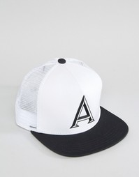 Белая бейсболка adidas Originals AY9380 - Белый