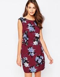 Платье с розами Closet - Красный