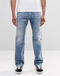Прямые выбеленные джинсы Diesel Safado 853I - Выбеленный