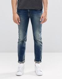 Прямые выбеленные джинсы Pepe Kingston N56 - Sanfore twist