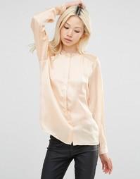 Рубашка с кружевными вставками на плечах Y.A.S - Amberlight